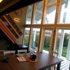 Фахверковый дом зимняя дача. Зимняя дача. строительство с отделкой деревянного дома по европейскому дизайну.